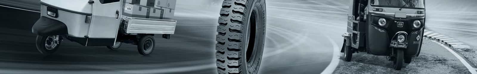 Electric 3 Wheeler Tyres Banner