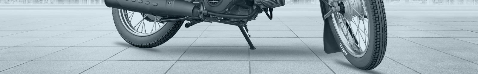 Moped tyres banner